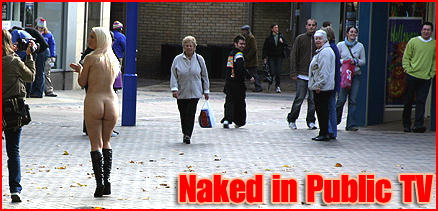 Naked in Public TV presents original British public nudity